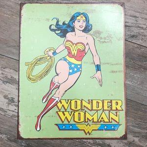 Wonder Woman Tin Wall Art